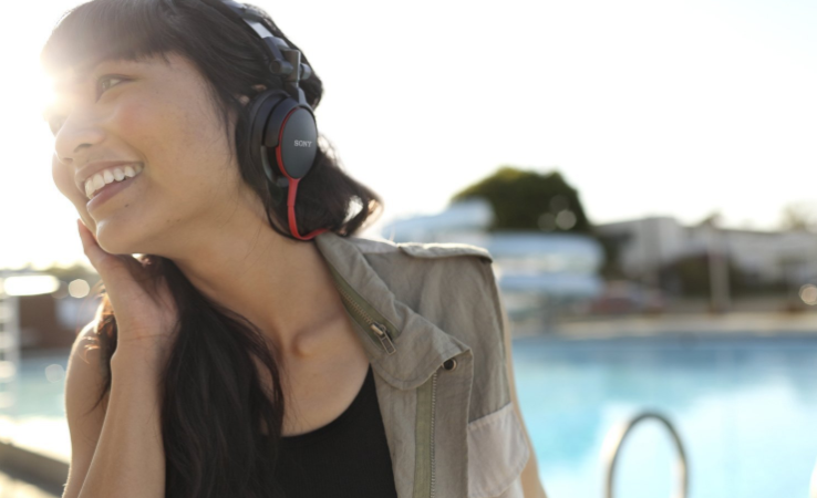 test casque audio Sony MDR-V55R